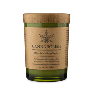 Cannabolish Odor Removing Candle Front