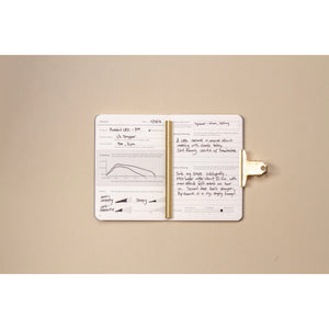 Goldleaf Journal CBD Jotter Open
