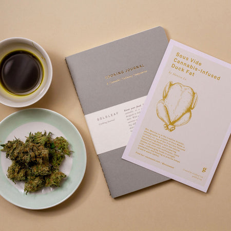 Goldleaf Journal Cooking Cannabis Lifestyle