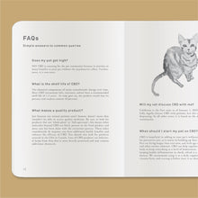 Load image into Gallery viewer, Goldleaf Journal Pet CBD Jotter FAQ