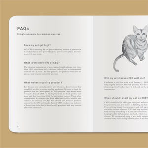 Goldleaf Journal Pet CBD Jotter FAQ
