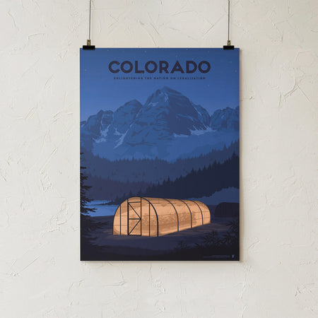 Goldleaf Prints Colorado Enlightenment Hero