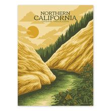 Load image into Gallery viewer, Goldleaf Prints NorCal Rivers Hero