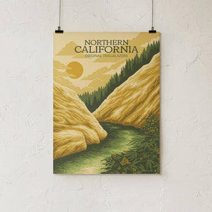Goldleaf Prints NorCal Rivers Hero