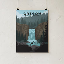 Load image into Gallery viewer, Goldleaf Prints Oregon Trees Hero
