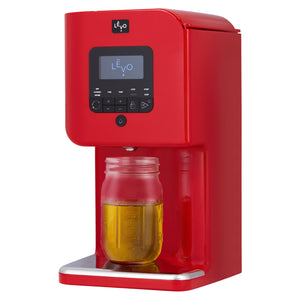 Levo 2 Oil Infuser Cayenne Red Dispensed