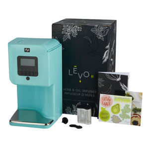 Levo 2 Oil Infuser Robin Blue Packaging