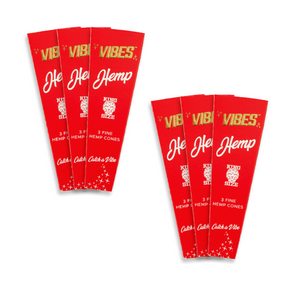 Vibes Cones King Hemp 3Pack