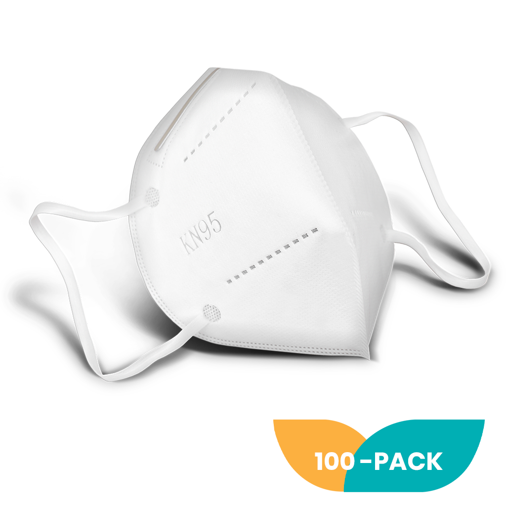 KN95 Face Mask - 100 Pack