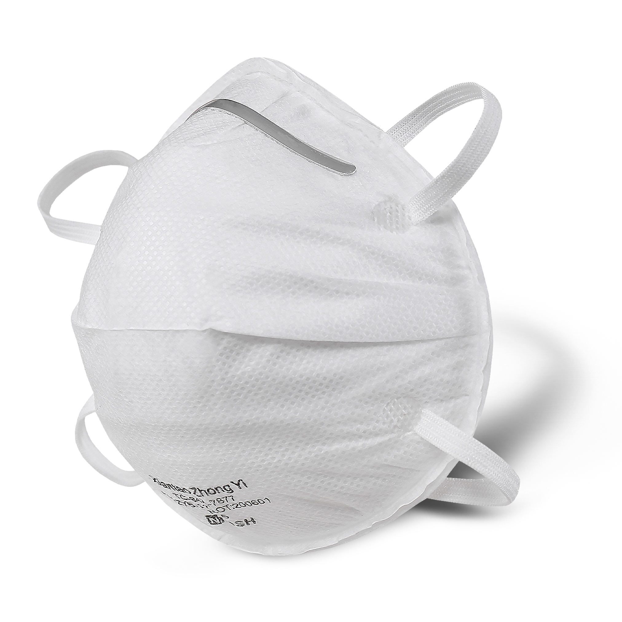 NIOSH Cup Style N95 Respirator Mask - 1000 Pack