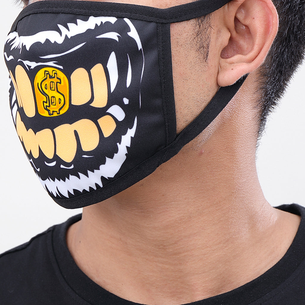 Golden Smile Cloth Face Mask