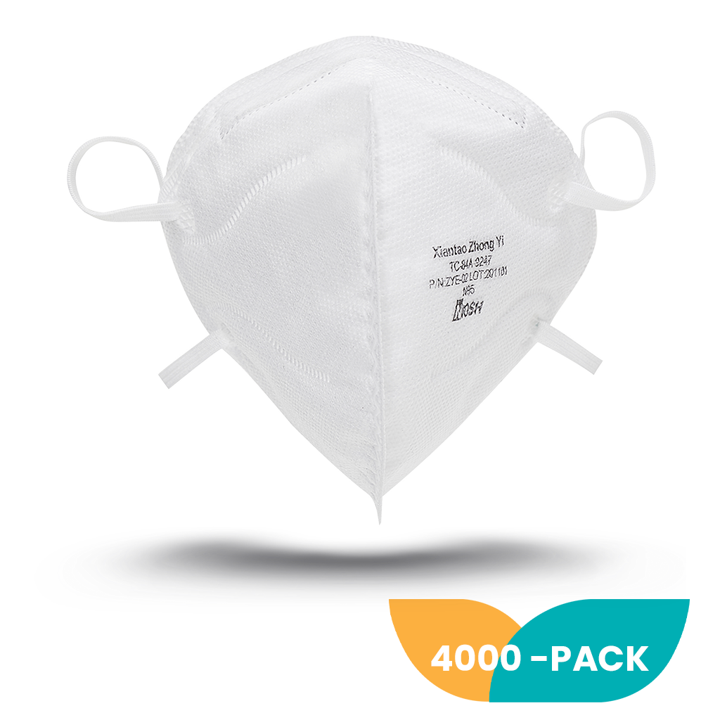 NIOSH N95 Foldable Mask - 4000 Pack