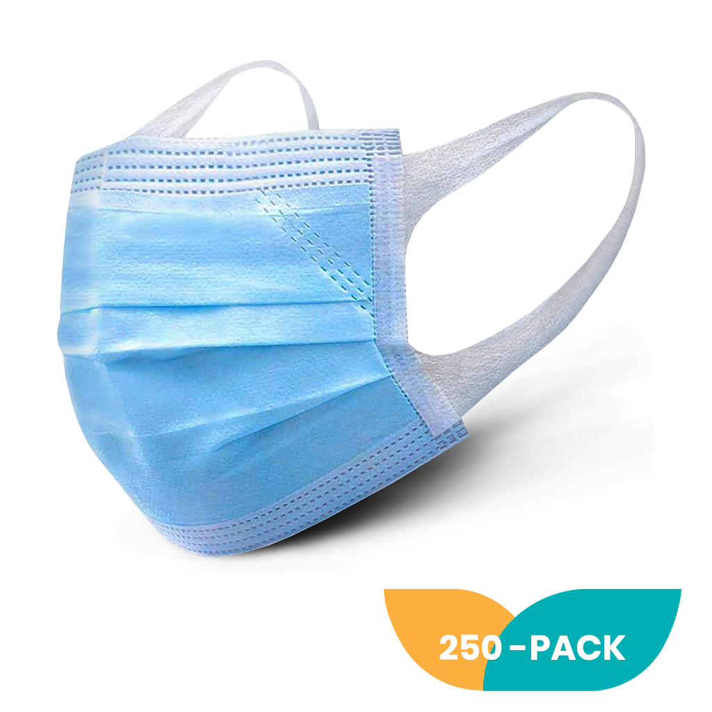 3-PLY Face Mask - 250 Pack
