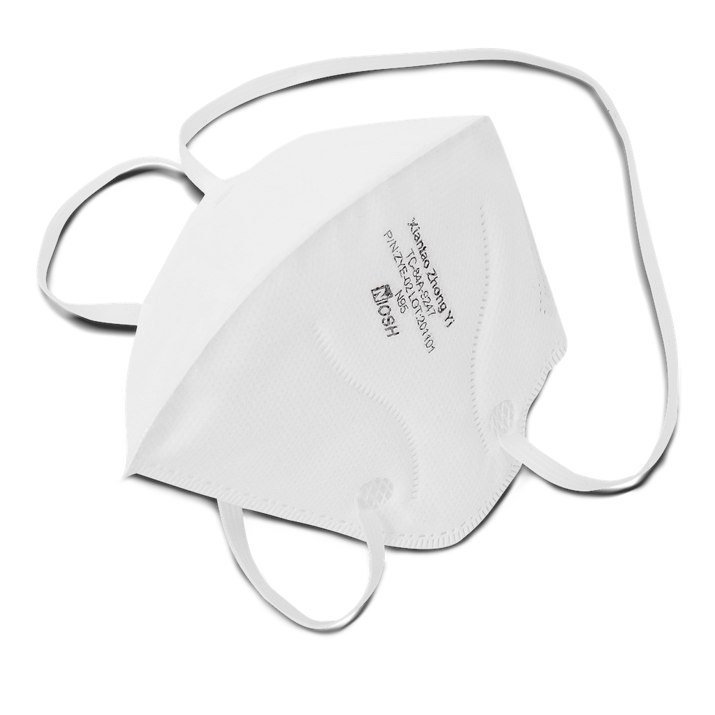 NIOSH N95 Foldable Mask - 500 Pack