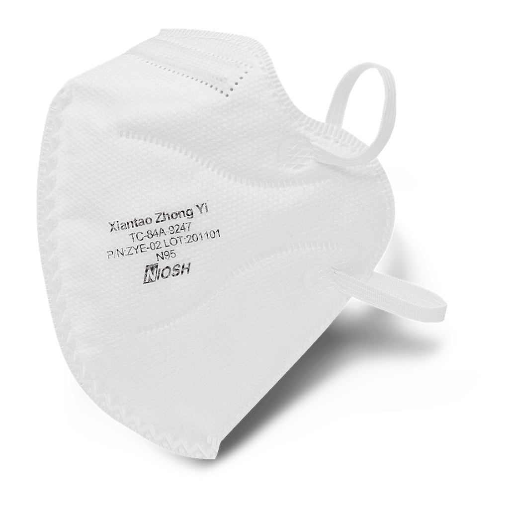 NIOSH N95 Foldable Mask - 30 Pack