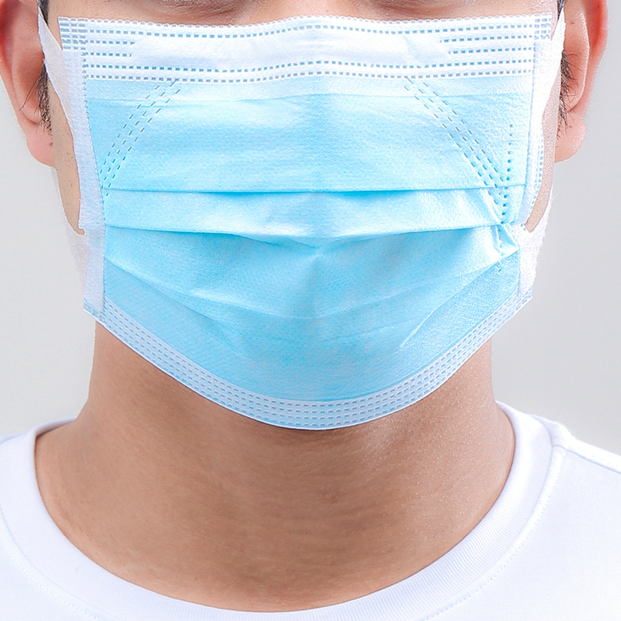 3-PLY Face Mask - 100 Pack