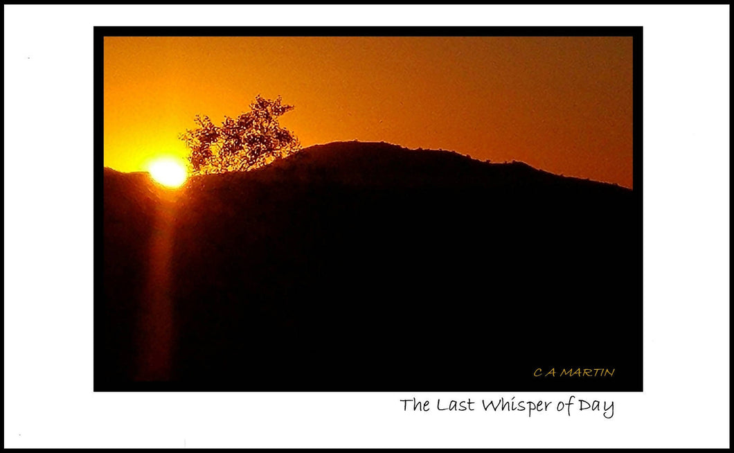 'THE LAST WHISPER OF DAY'