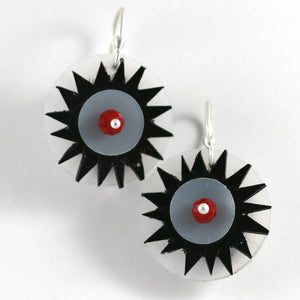Sun Spiked Earrings
