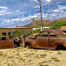 Load image into Gallery viewer, 11x14 Photo Ajo classic car ruins