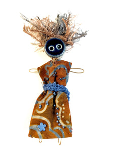 CORNFLOWER - Wearable Art Pin