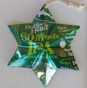 Beer Can Star - Dogfish Head 60 Minute IPA