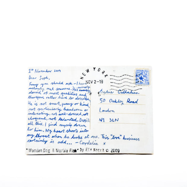 "Ceramic Postcard ""Dear Soph"""