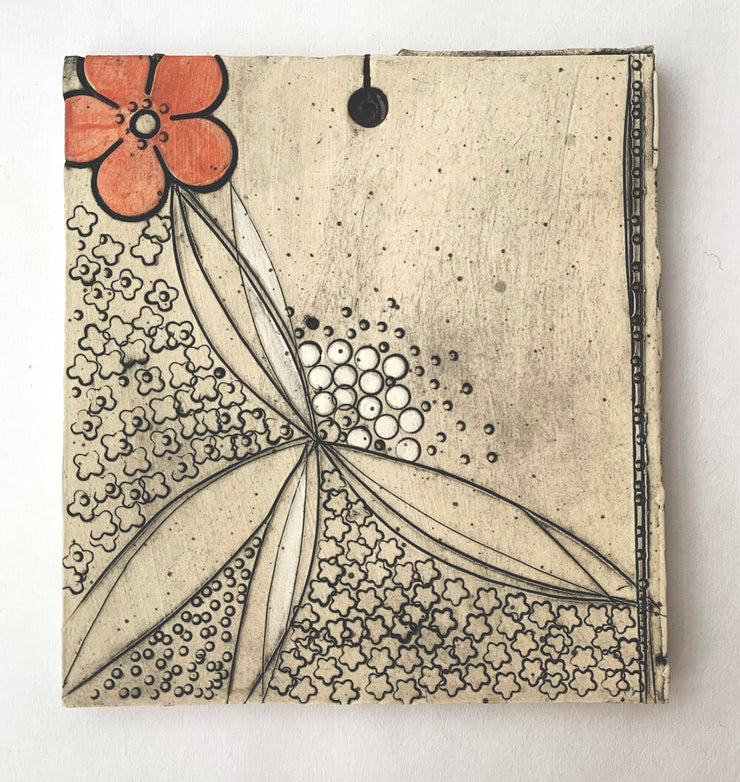 """Blossoming""  Wall Hanging"