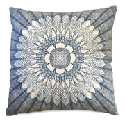 Sunflower Radiance Reversible Linen Pillow