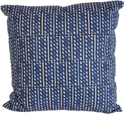 Slant Block Stripes Pillow