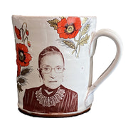 RBG Mug with Poppies