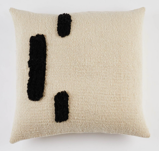 Agnes Handwoven Wool Pillow