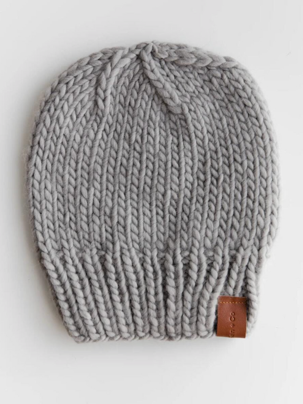 Classic Chunky Hand Knit Beanie