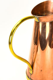 Tall Copper Pitcher