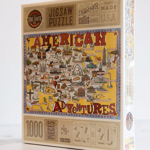 American Adventures by True South Puzzles