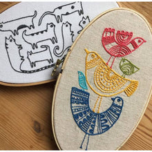 Load image into Gallery viewer, Birds Embroidery Kit