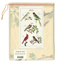 Load image into Gallery viewer, Birds Tea Towel