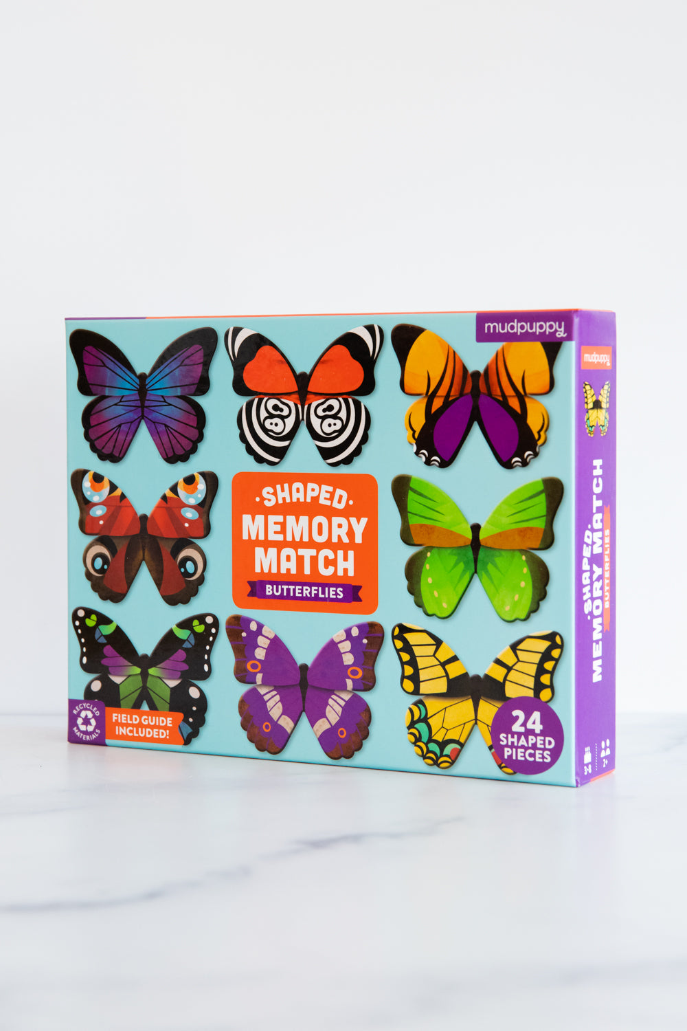 Butterflies Shaped Memory Match Game