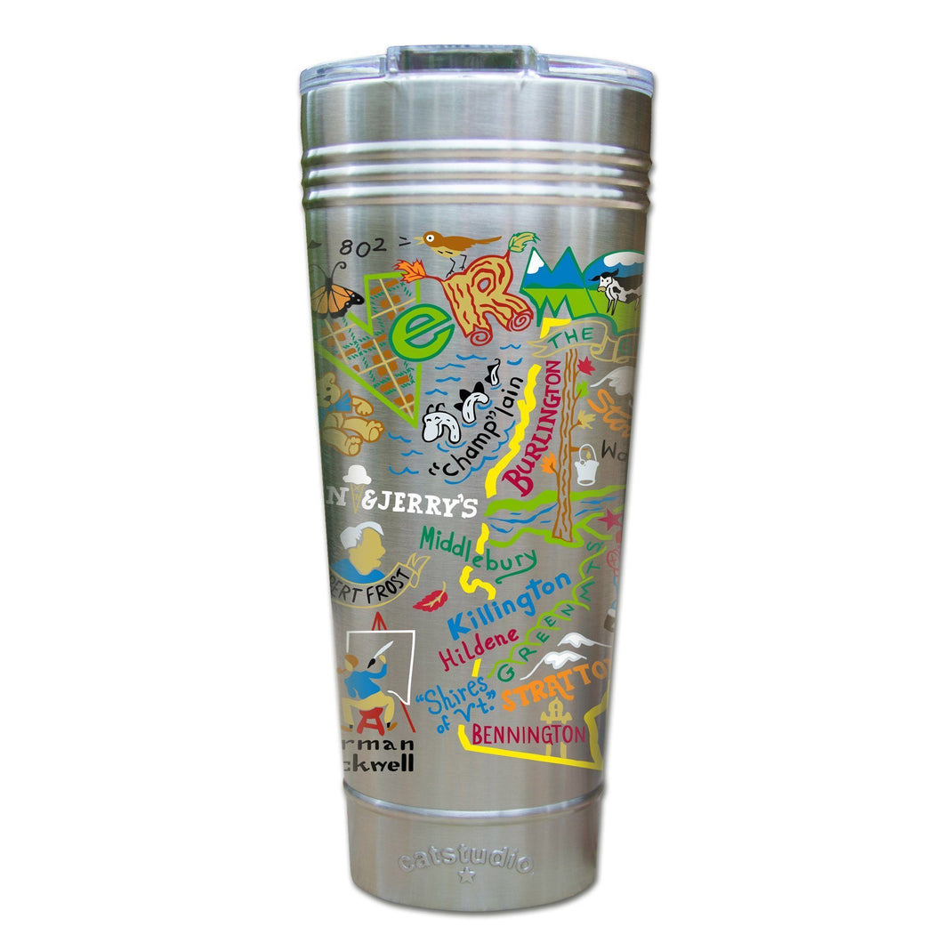 Cat Studio Vermont 24 oz. Stainless Steel Tumbler