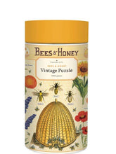 Load image into Gallery viewer, Bees & Honey Vintage 1,000 Piece Puzzle