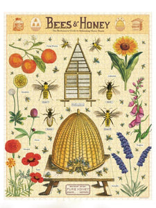 Bees & Honey Vintage 1,000 Piece Puzzle