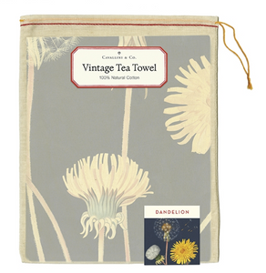 Dandelion Tea Towel