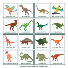 Load image into Gallery viewer, Dinosaur Bingo: (An easy-to-play game for children and families)