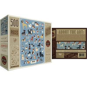 Dogs: The Illustrated Collection Puzzle by True South