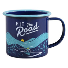 Load image into Gallery viewer, Gentlemen's Hardware Hit the Road Enamel Camping Mug