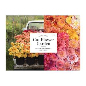 Floret Farm's Cut Flower Garden Double Sided Puzzle