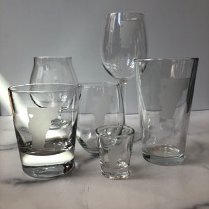 Love Vermont Glassware Collection