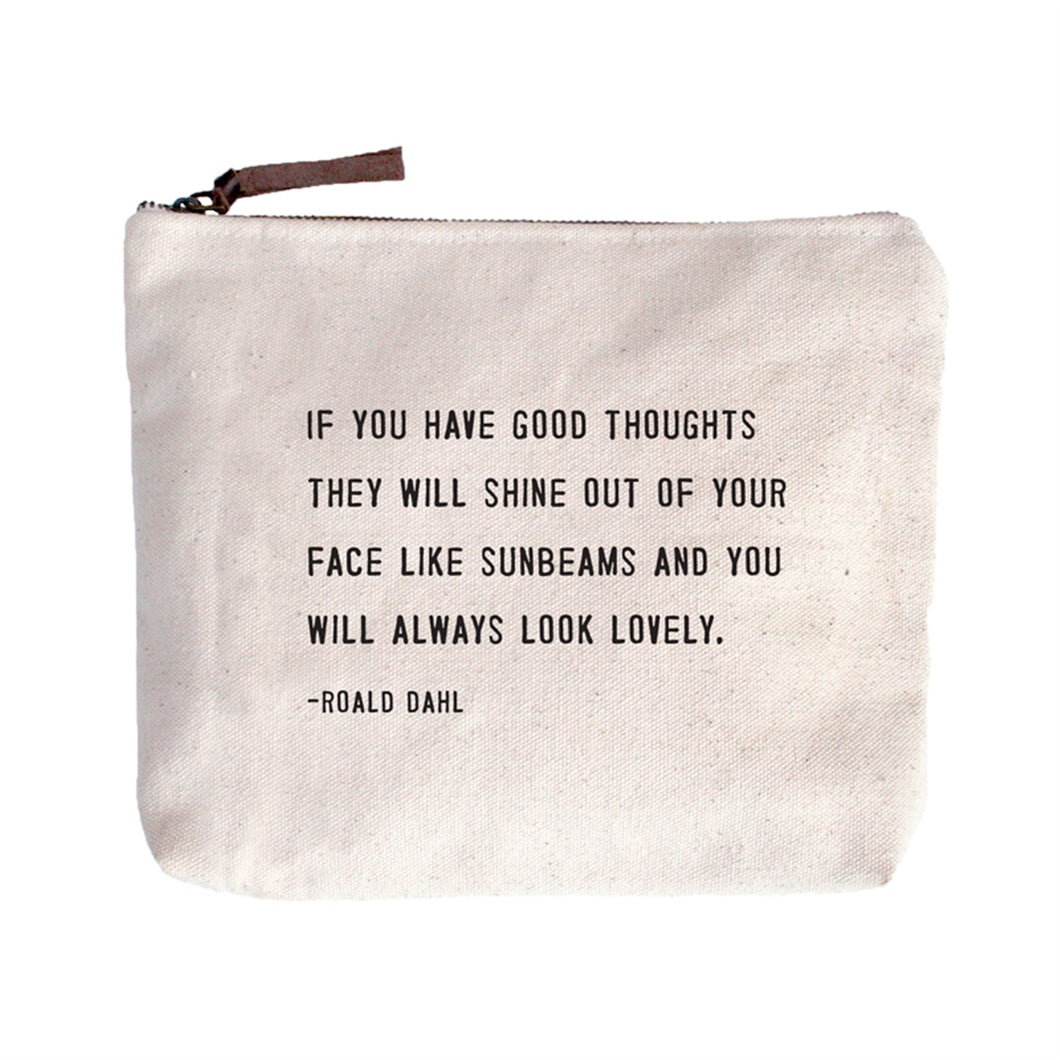 Canvas Bags - choose from 9 different quotes