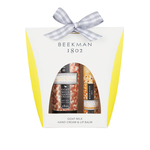 Beekman 1802 Pure Hand & Lip Hydration Kits