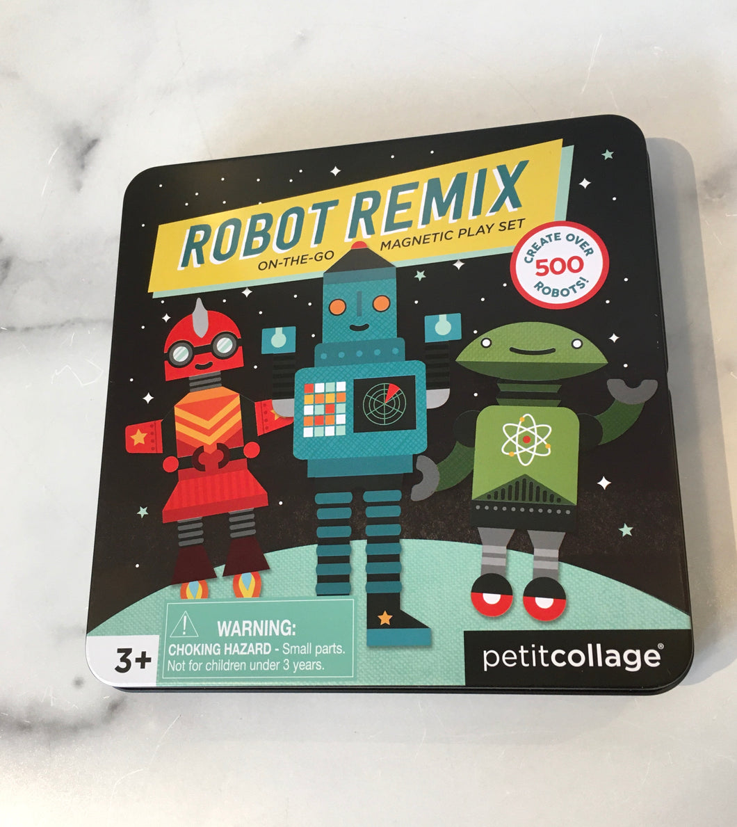 Robot Remix On-The-Go Magnetic Play Set