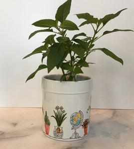 Teacher Herb Pot